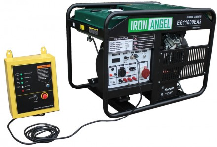 Генератор Iron Angel EG 11000 EA3 + блок автоматики. Киев. фото 1