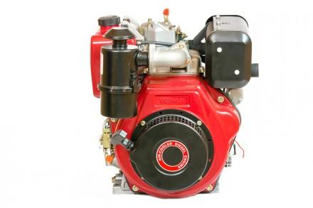 Двигатель дизельный Weima WM186FBE (вал под шлицы) 9.5 л.с. съёмный цилиндр. Киев. фото 1