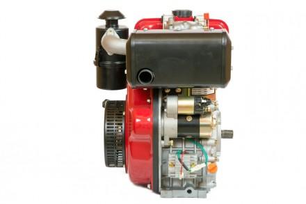 Двигатель дизельный Weima WM186FBE (вал под шлицы) 9.5 л.с. съёмный цилиндр Дизе. Киев, Киевская область. фото 3