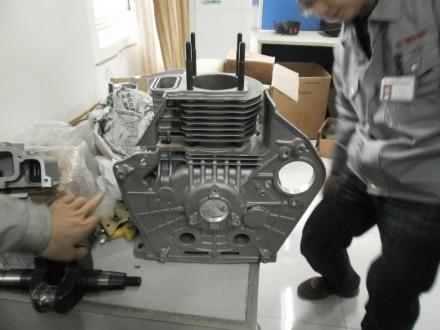 Двигатель дизельный Weima WM186FBE (вал под шлицы) 9.5 л.с. съёмный цилиндр Дизе. Киев, Киевская область. фото 7