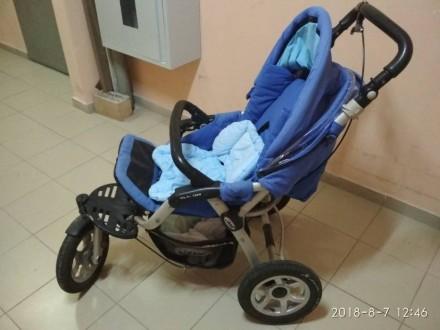 Продам коляску-трансформер jane slalom pro 3в1. Лубны. фото 1