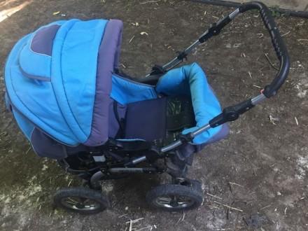 Детская коляска Donatan б.у 3 в 1. Херсон. фото 1