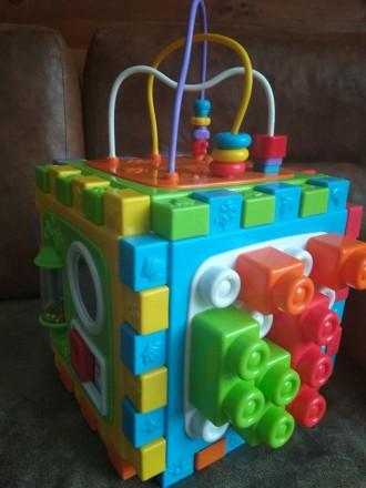 Розвиваюча іграшка куб пазл лабіринт (развивающая игрушка). Житомир. фото 1