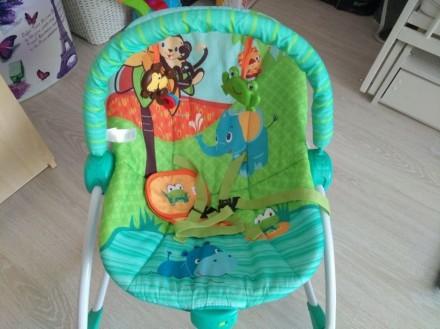 Детское кресло шезлонг Bright Starts. Борисполь. фото 1