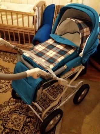 Продам универсальную коляску детскую Geoby 2 в 1.. Днепр. фото 1