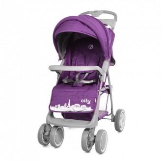 Коляска прогулочная Babycare City BC-5201, purple. Свалява. фото 1
