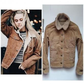 Крута вільветова утеплена курточка bay p.L. Львов. фото 1