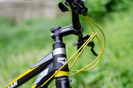 """Велосипед Impuls Morgan 24"""" Импульс Морган   цвет Черно-желто-серыйцве Диаме. Киев, Киевская область. фото 4"""
