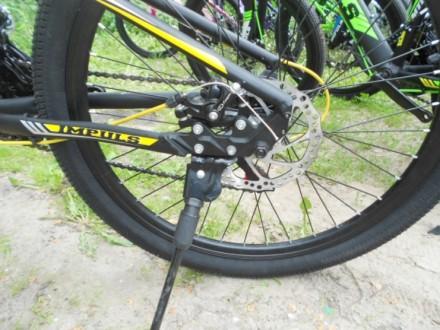 """Велосипед Impuls Morgan 24"""" Импульс Морган   цвет Черно-желто-серыйцве Диаме. Киев, Киевская область. фото 8"""