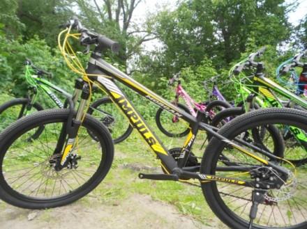"""Велосипед Impuls Morgan 24"""" Импульс Морган   цвет Черно-желто-серыйцве Диаме. Киев, Киевская область. фото 7"""