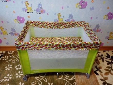 Манеж-кроватка. Борисполь. фото 1