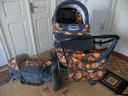 Детская коляска трансформер. Верхний Рогачик. фото 1