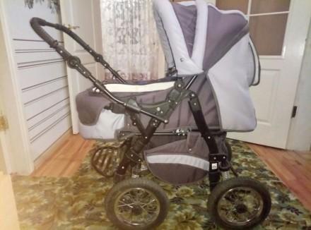 Продам срочно дитячу коляску трансформер 2 в 1. Белая Церковь. фото 1