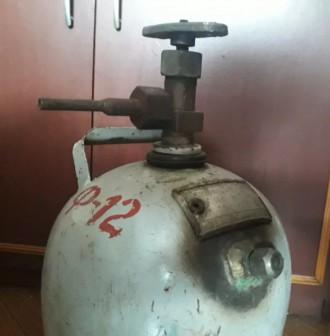 Баллон для заправки холодильников и кондиционеров 5 л.. Запорожье. фото 1