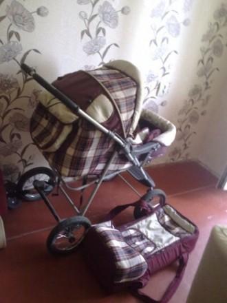 Детская коляска трансформер. Донецк. фото 1