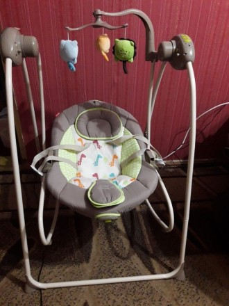 Детское кресло - качалка Carrello Molle. Херсон. фото 1