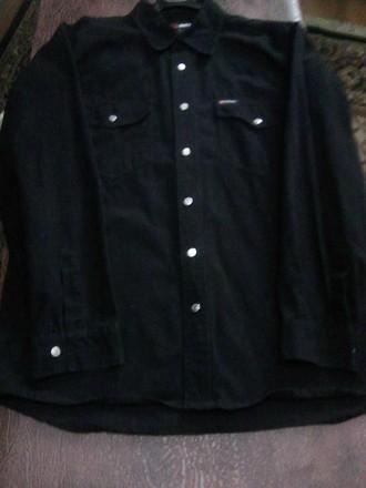 Мужская черная Рубашка. Фирма