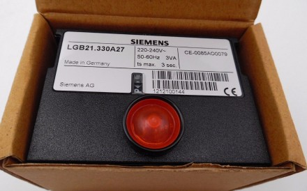 Автомат горения  Siemens  LGB 21.330 A27. Днепр. фото 1