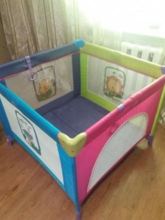 Игровой манеж-кровать. Селидово. фото 1