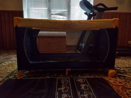 Детская манеж кровать. Отличное состояние.. Херсон. фото 1