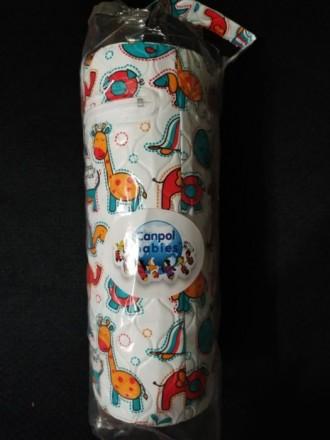 Термосумка для бутылочки Canpol Babies круглая. Дружковка. фото 1