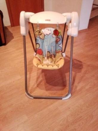 Продам кресло-качалка Fisher-Price. Царичанка. фото 1