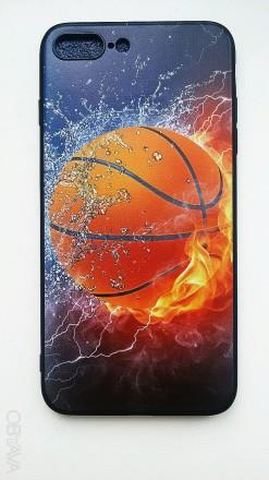 Чехол для iPhone 6S+, 7+, 8+ силиконовый. Александрия. фото 1
