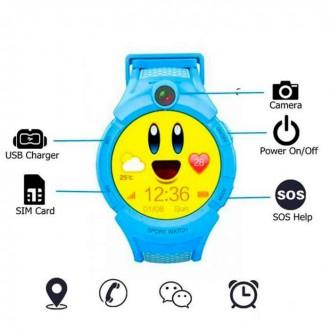 Детские смарт-часы GSM Wireless Data Terminal S02. Чернигов. фото 1