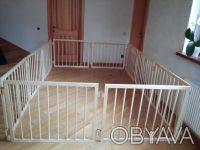Качественный деревянный манеж-конструктор будет любимым и безопасным местом для . Киев, Киевская область. фото 3