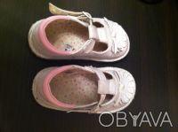 Продам детские туфельки на девочку размер 8 (25,5) фирмы Mothercare. Б/у в отлич. Дніпро, Дніпропетровська область. фото 4