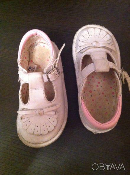 Продам детские туфельки на девочку размер 8 (25,5) фирмы Mothercare. Б/у в отлич. Дніпро, Дніпропетровська область. фото 1