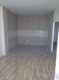 ЖК Фаворит, 9 этаж, вид на ипподром. Общая 40,9 м2. Кухня - студия и спальня. П. Средний Фонтан, Одесса, Одесская область. фото 3