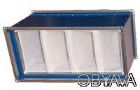 Вентиляционный фильтр для прямоугольных каналов ФКД. Кривой Рог. фото 1