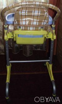 Отличный стульчик,удобный. Выполнен из легкого металла и очень крепкого пластик. Днепр, Днепропетровская область. фото 5