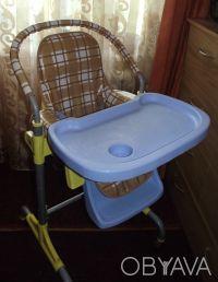Отличный стульчик,удобный. Выполнен из легкого металла и очень крепкого пластик. Днепр, Днепропетровская область. фото 2