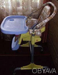 Отличный стульчик,удобный. Выполнен из легкого металла и очень крепкого пластик. Днепр, Днепропетровская область. фото 4