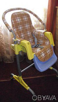 Отличный стульчик,удобный. Выполнен из легкого металла и очень крепкого пластик. Днепр, Днепропетровская область. фото 7