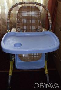 Отличный стульчик,удобный. Выполнен из легкого металла и очень крепкого пластик. Днепр, Днепропетровская область. фото 3