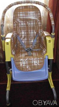Отличный стульчик,удобный. Выполнен из легкого металла и очень крепкого пластик. Днепр, Днепропетровская область. фото 6