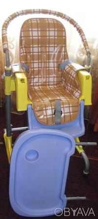 Отличный стульчик,удобный. Выполнен из легкого металла и очень крепкого пластик. Днепр, Днепропетровская область. фото 9