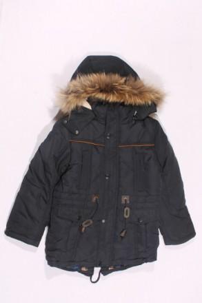Куртка -парка для мальчика зимняя. Размер-128, 134, 140, 152.Новая.. Кривой Рог. фото 1