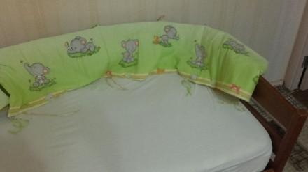 Продам защиту для детской кроватки. Херсон. фото 1