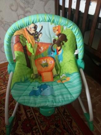 Детское кресло качалка. Борисполь. фото 1