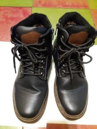 Ботинки зимние мужские. Днепр. фото 1