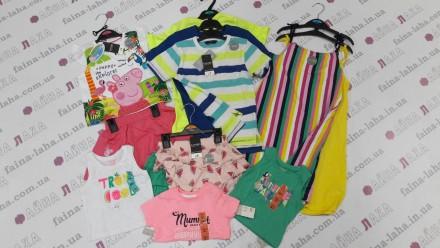 Детская одежда весна/лето из Англии! СТОК ОПТ. Киев. фото 1