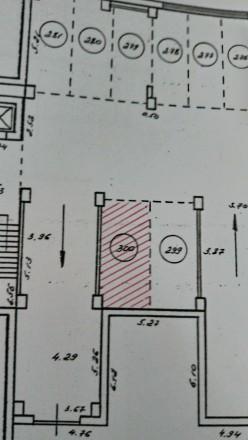 Продам машиноместо в паркинге Тополевая 10А для большой машины 18 квадратных мет. Одесса. фото 1
