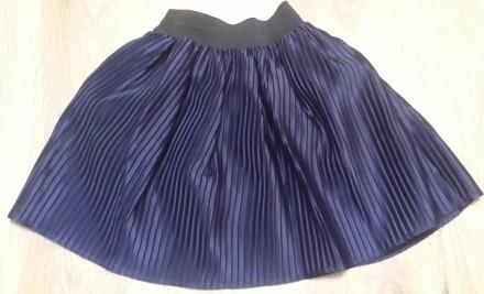 Школьная синяя юбочка . 5 - 6 класс. Одесса. фото 1