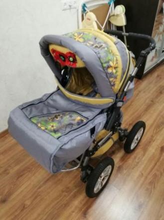 Продам детскую коляску трансформер зима лето Victoriya. Никополь. фото 1