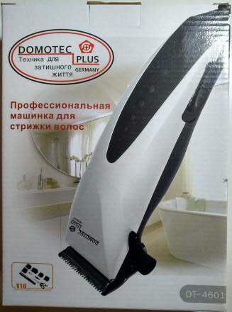 Машинка для стрижки волос Domotec DT-4601 (25W) + ножницы, расческа  Универсал. Харьков, Харьковская область. фото 3