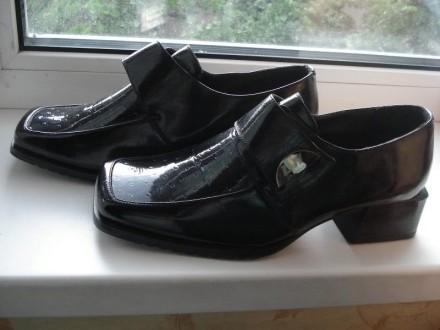 Продам женские черные туфли. Днепр. фото 1